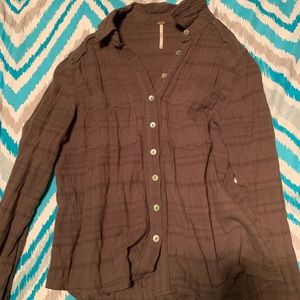 Free People button down shirt(XS)